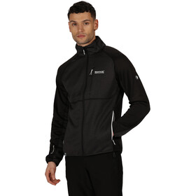 Regatta Foley II Hybrid Softshell Jacket Men ash/black
